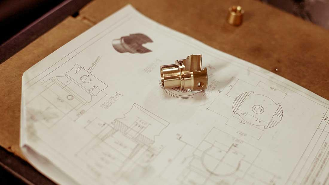 Oficina Técnica de proyectos para mecanizado de piezas de latón